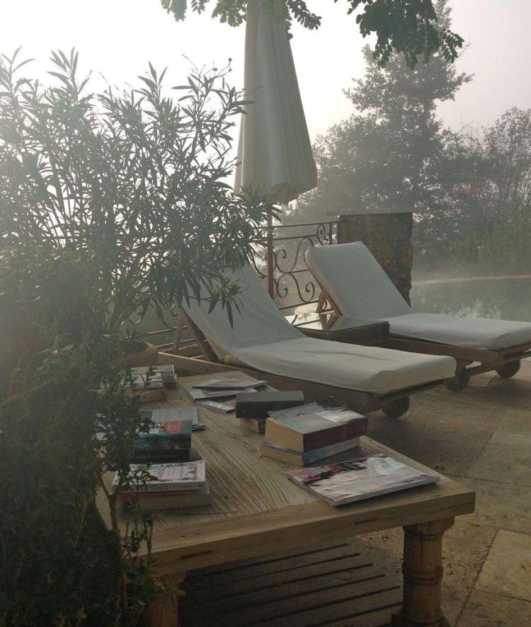 books at pool