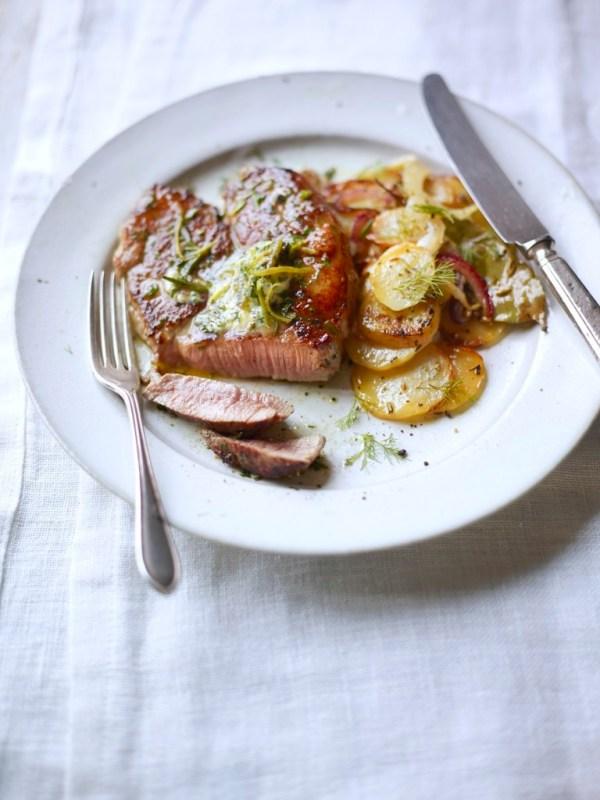 New Zealand Lamb steak