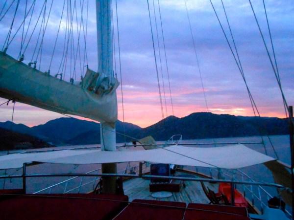 turkish sunrise