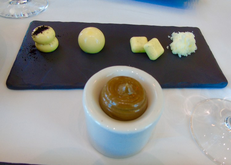 Five types of butter at Waterkloof