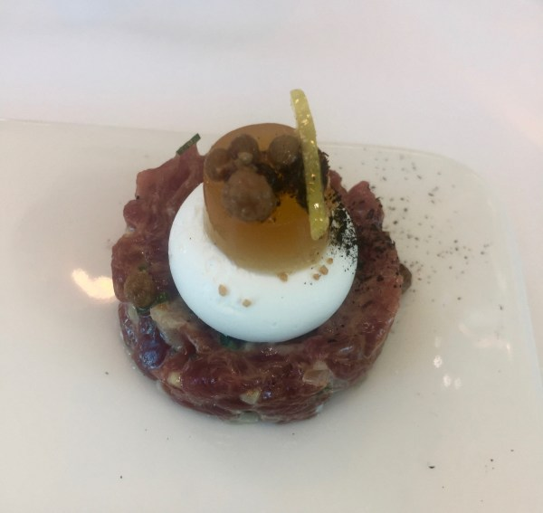 The amuse bouche at Waterkloof