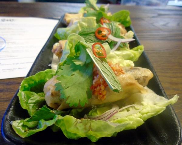 Yuu Kitchen: Vietnamese spring rolls