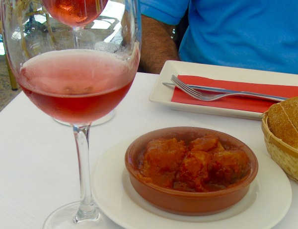 Alicante: lunch in Old Town