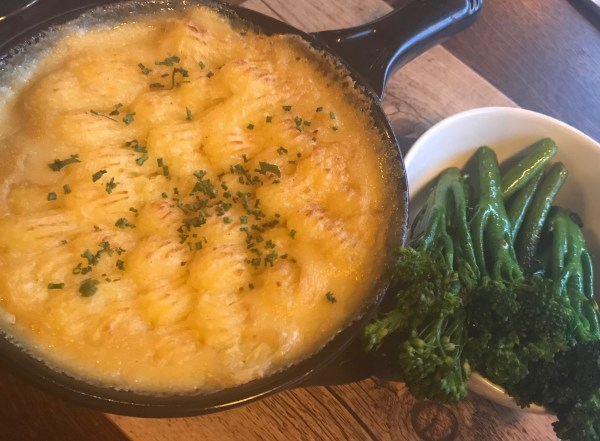 Fire Stables: fish pie