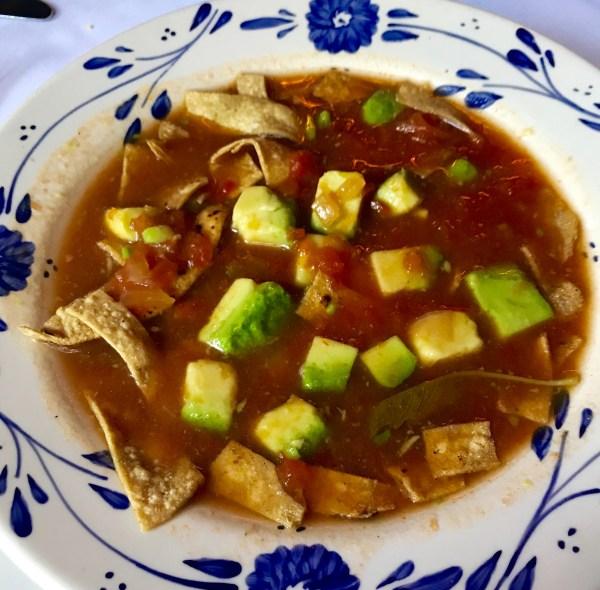 San Angel Inn: Soup