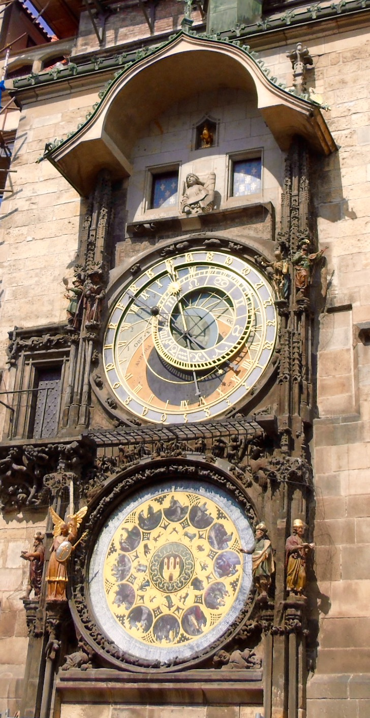 Prague: astronomical clock