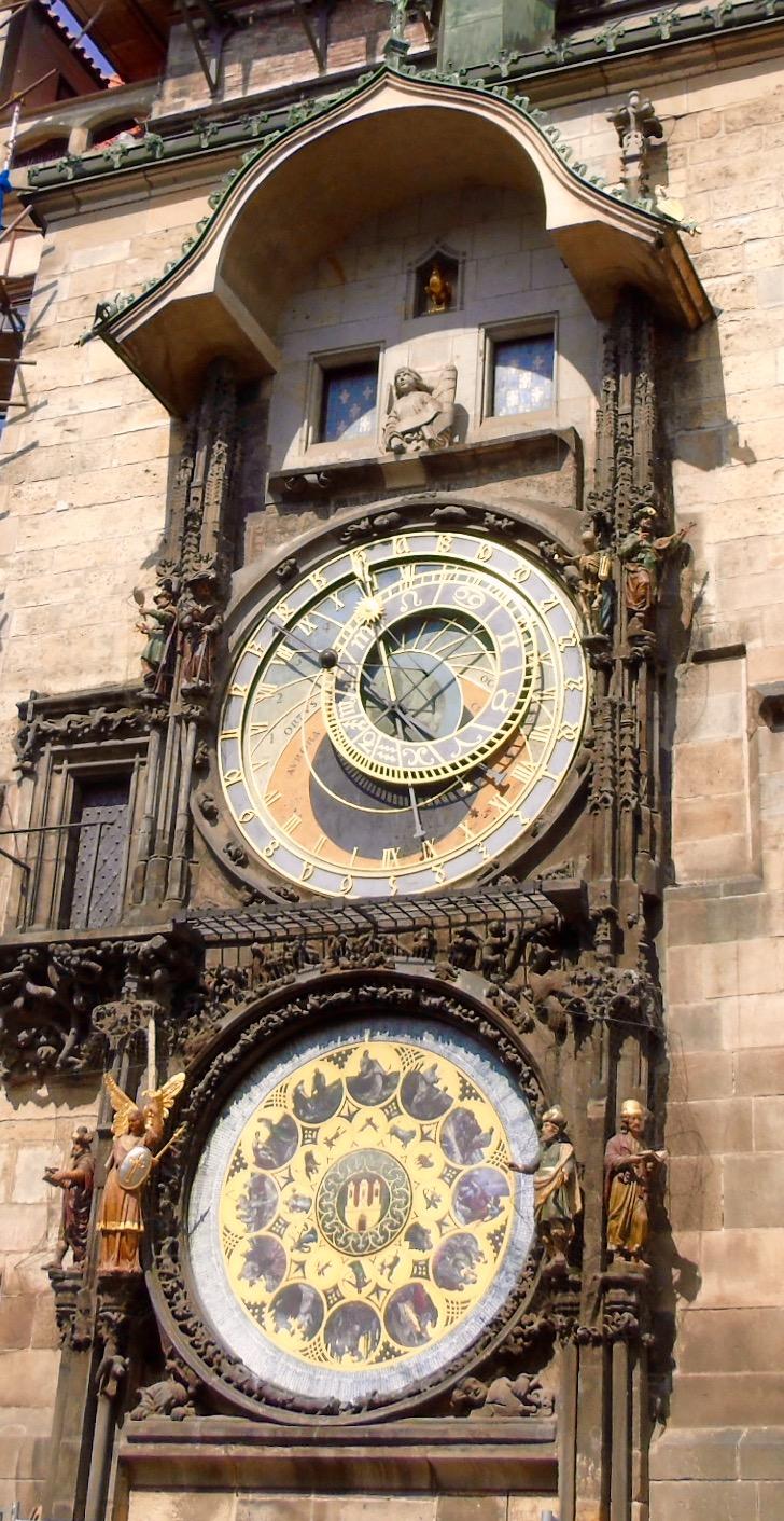 Prague: astronomical clock