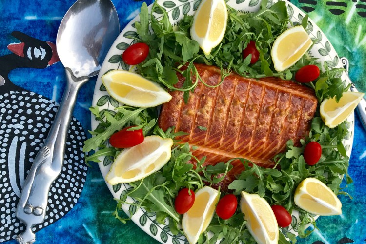 Recipe Hot Smoked Salmon In My Char Broil Digital