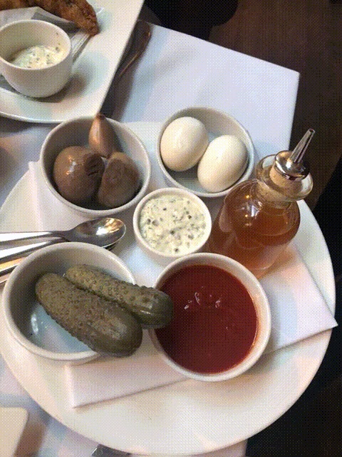Chamberlains: pickles and sauces
