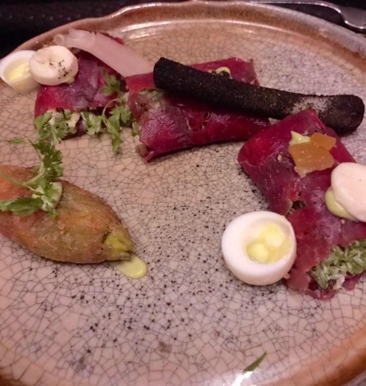 CottoCrudo: tuna carpaccio