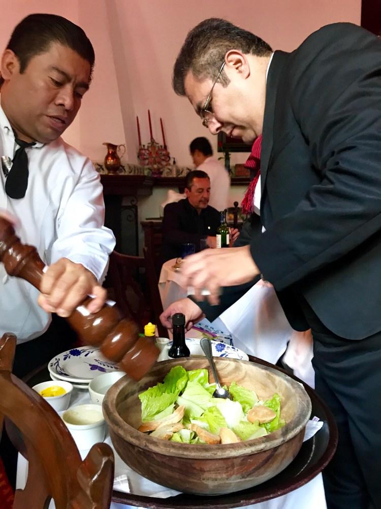 San Angel Inn: Caesar salad