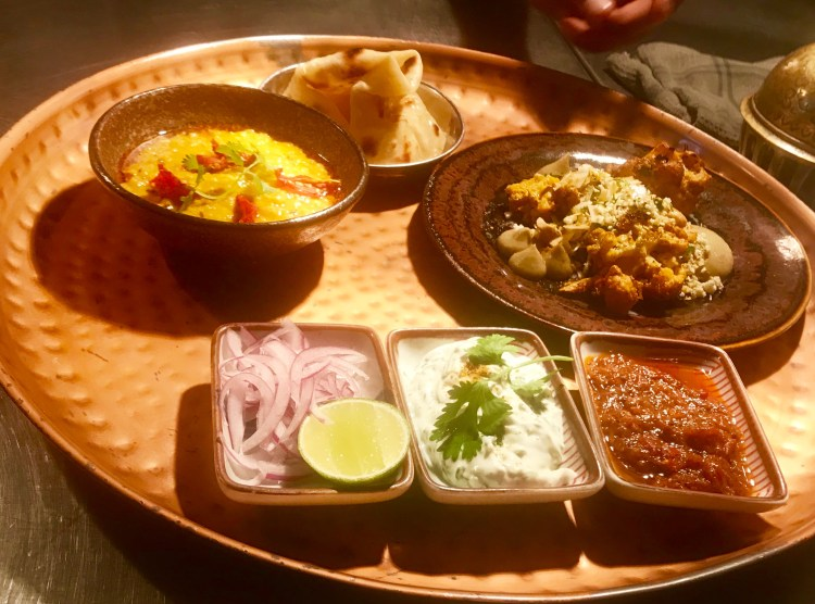 Thali: second course
