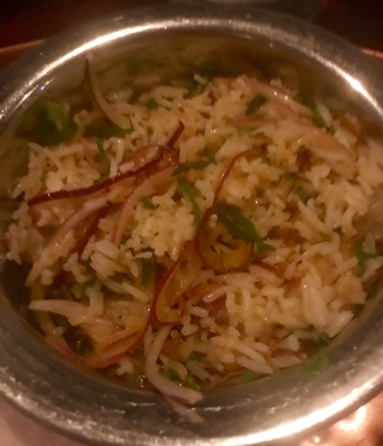 Thali: Rice