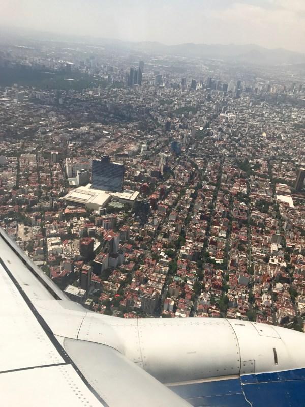 Mexico City: landing