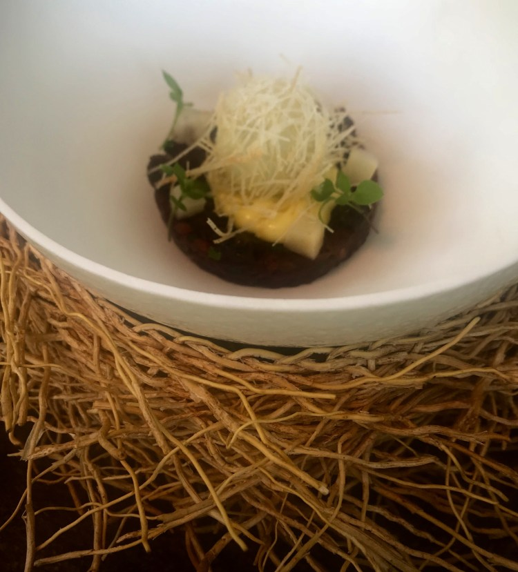 The Greenhouse: ostrich tartare