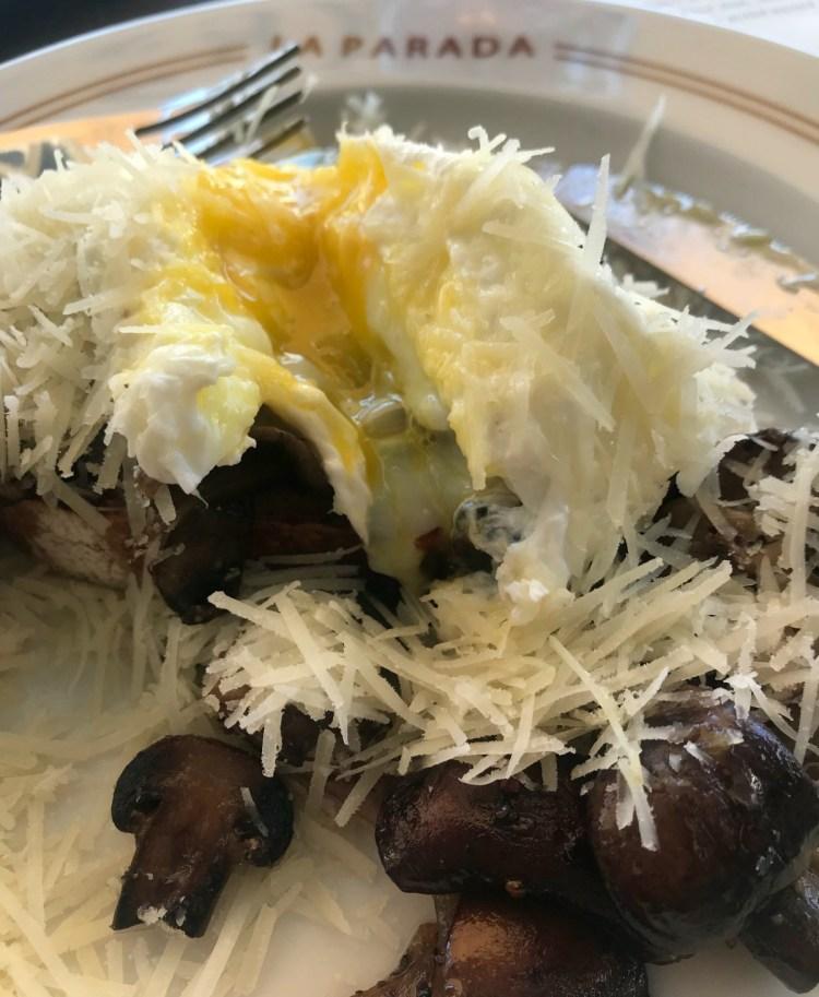 La Parada: mushrooms