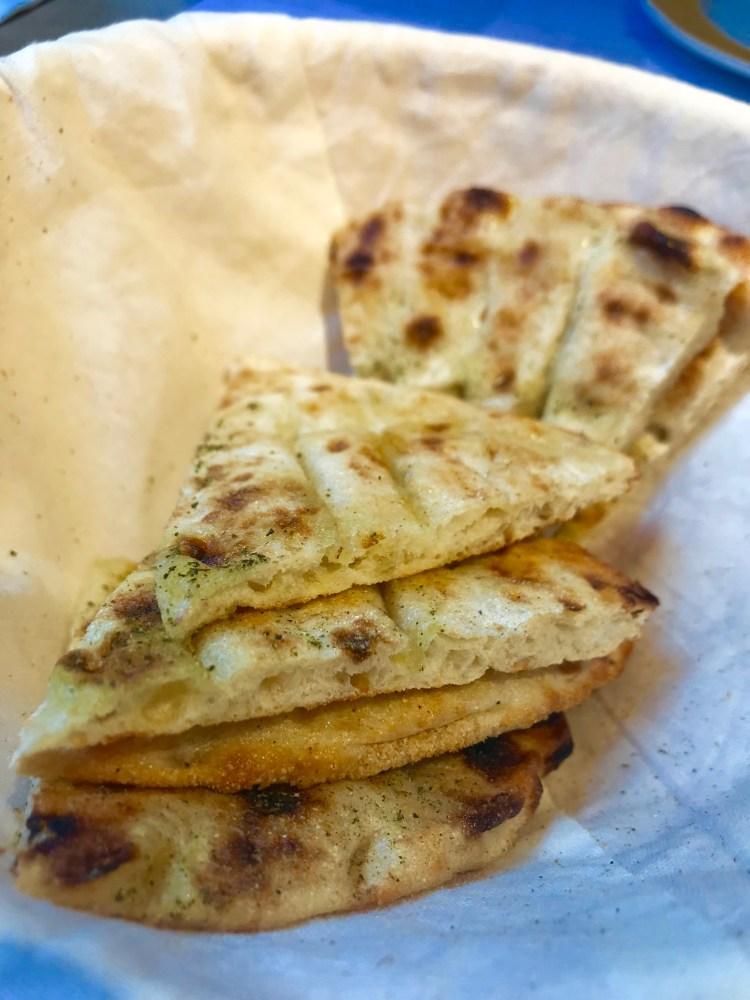 Ceru: pitta bread