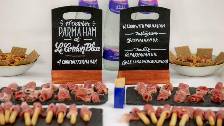 Parma Ham: Le Cordon Bleu