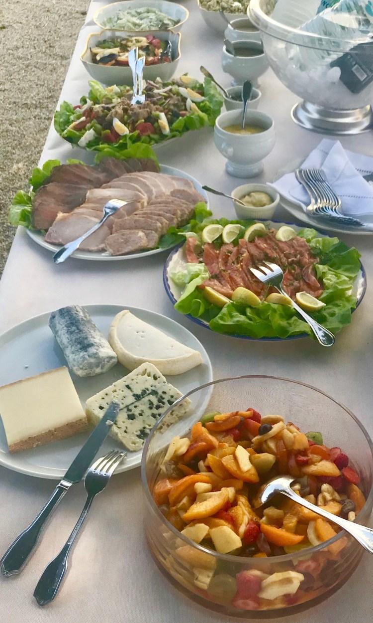Grand Luce: salads