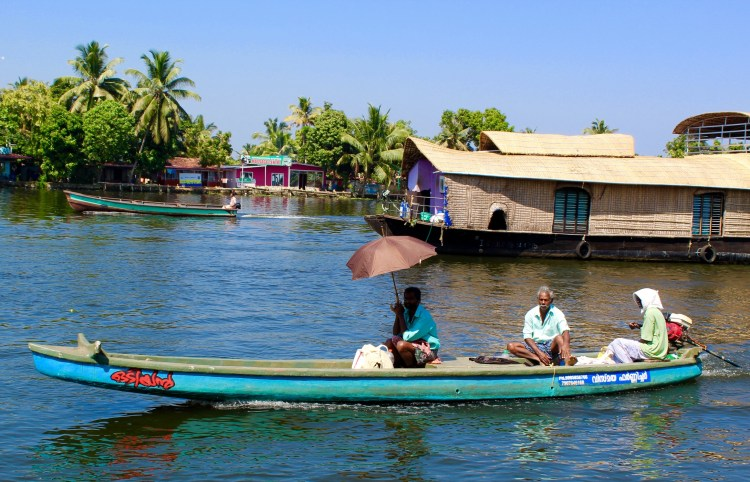 Kerala: backwaters