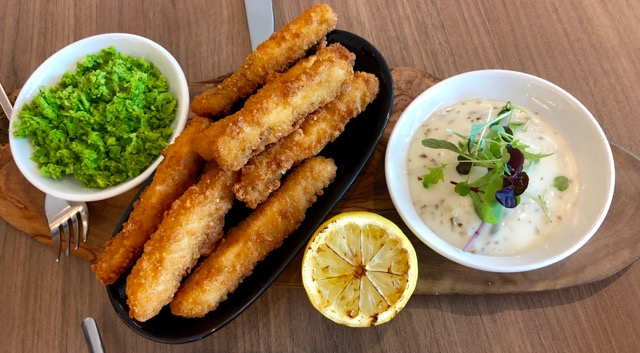 360 Restaurant: lemon sole