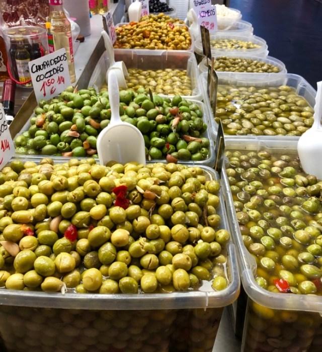 Malaga: olives