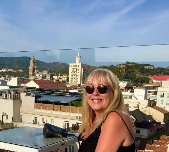 Malaga: Hotel rooftop