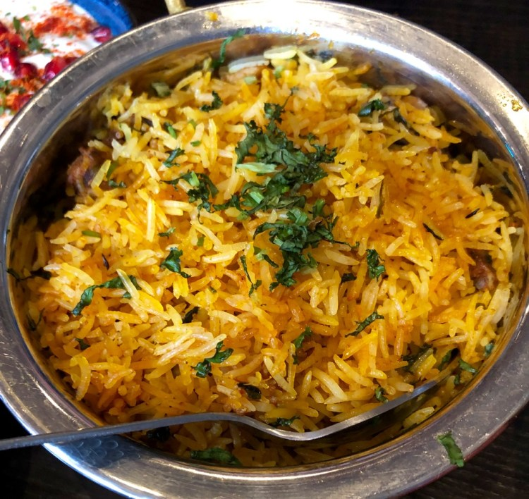 Soho Wala: biryani
