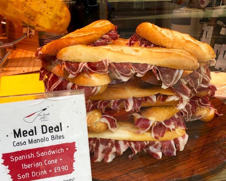 Casa Manolo: sandwiches