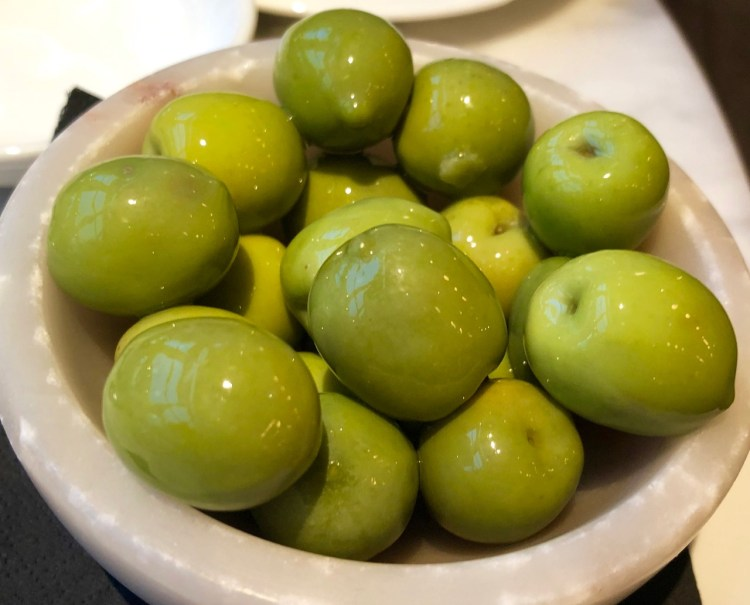 Fiume: olives