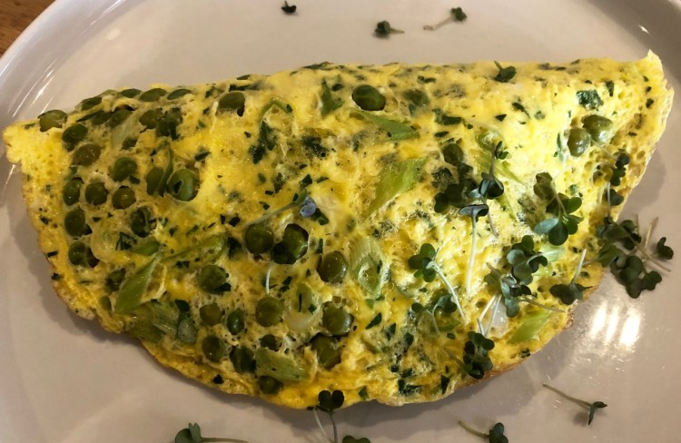 Bootleggers: green omelette