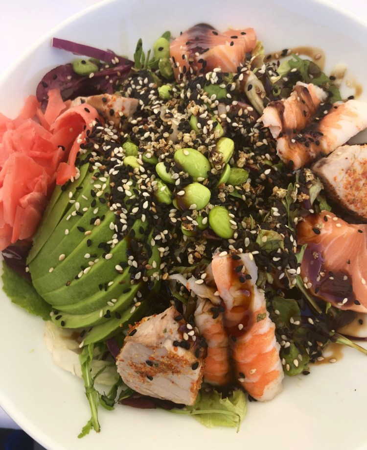 The Bungalow: sushi salad