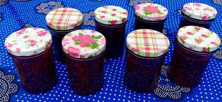 Rosie Makes Jam: jars