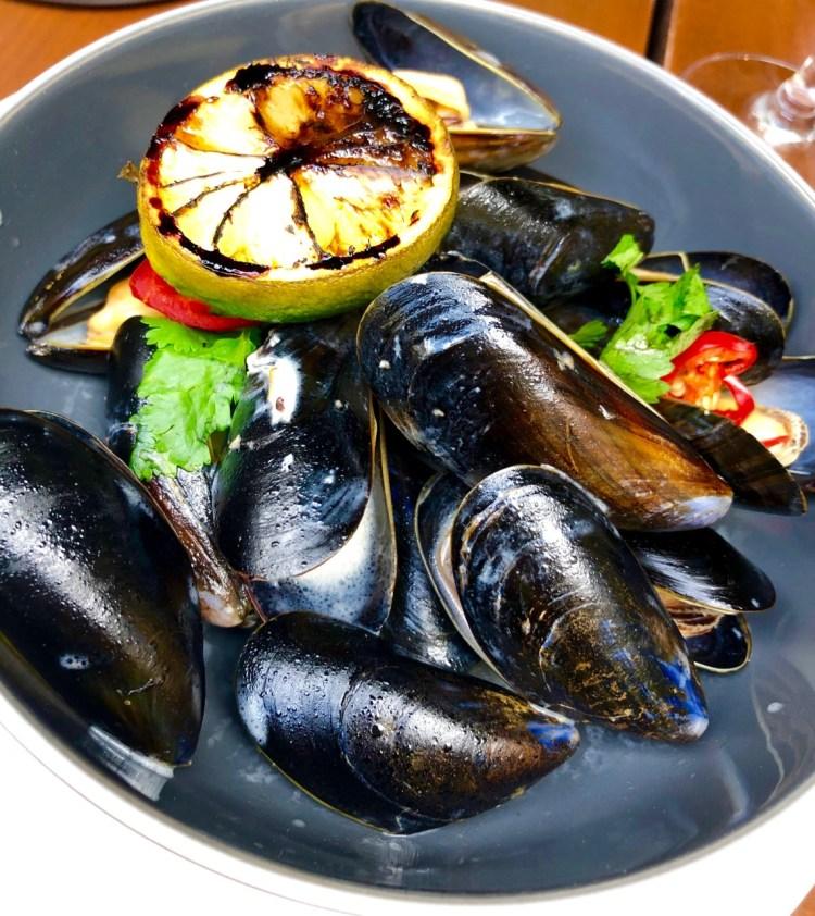 Haddon Street Kitchen: mussels