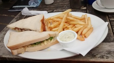 Fish Finger Sandwiches anyone? These were delightful!