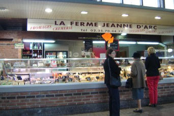 Farm Shop selling cheese, cream, poultry, game and cold cuts