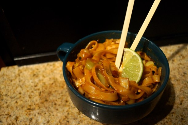 Malaysian Egg Noodles with Chili