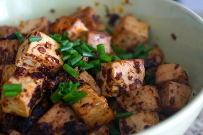 Tofu with Chives