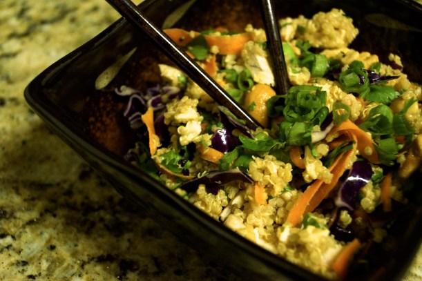 Thai Quinoa Chicken Salad