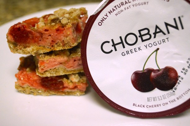 9 - Cherry Yogurt Pie Bars