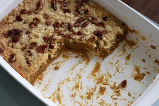Pumpkin Nut Bars Recipe Using Cake Mix