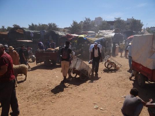 Pop-up hawli market
