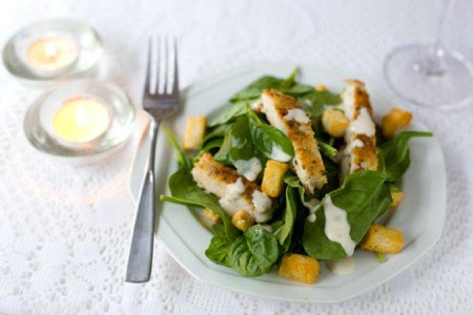 Bilderesultat for chicken salad and parmesan