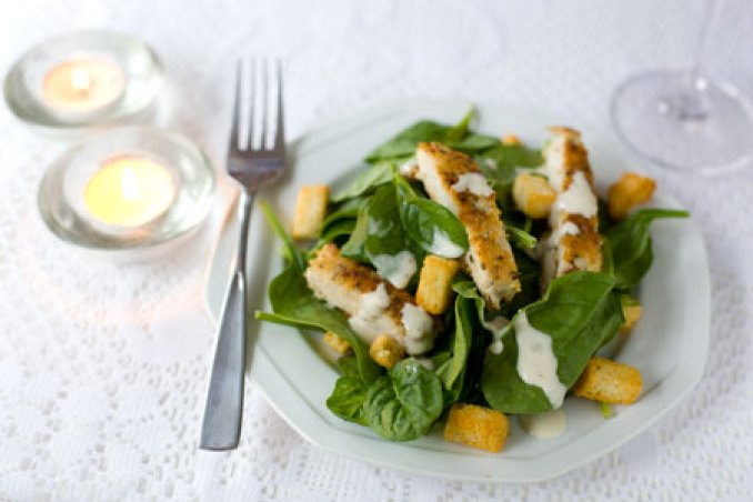 Bilderesultat for chicken salad and parmesan