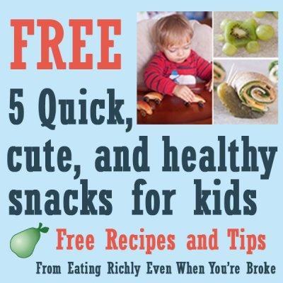 Free Cute Kid Snacks