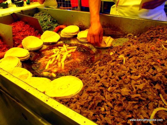 Tacos cecina