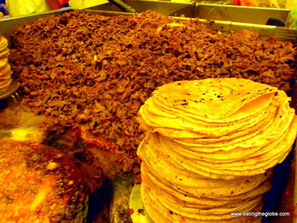 "Cecina at Tuesday Market/""El Tianguis"""