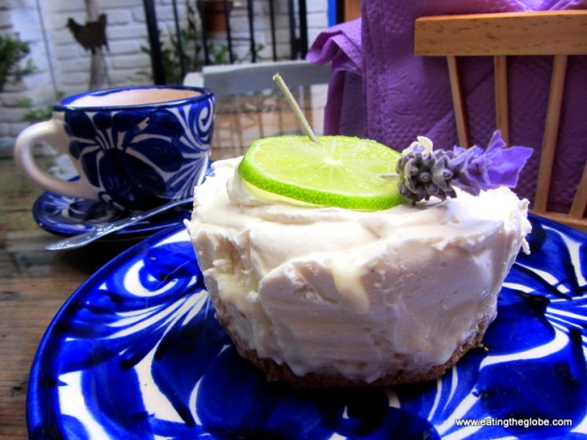 lime pie at lavanda san miguel de allende
