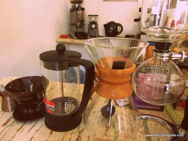 Cafe de la Mancha best coffee in San Miguel de Allende