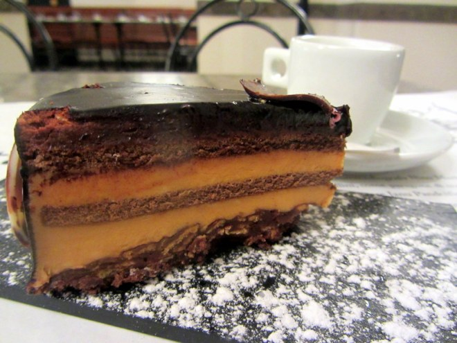 Torta Setteveli- a cake so good it's named for a seductive dance